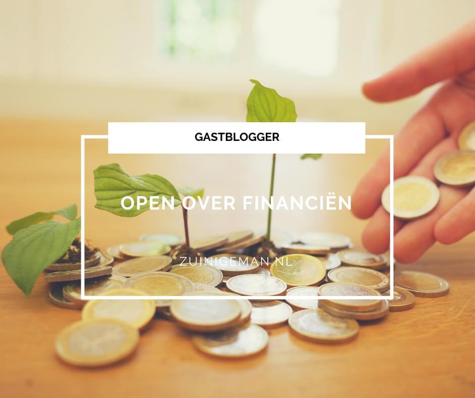 Open over financiën