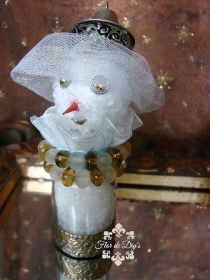 muñeco-de-nieve-reciclando-saleros-flor-de-diys