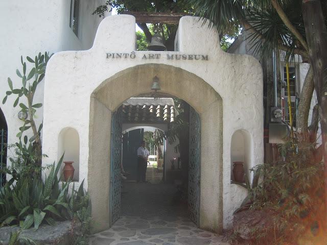 Pinto Art Museumの入り口
