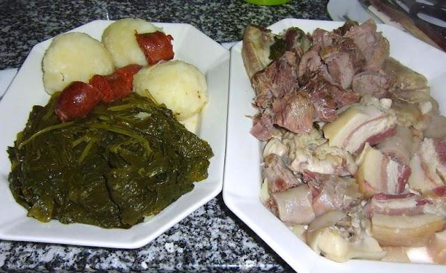 Receta de cocido gallego