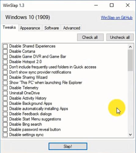 برنامج WinSlap