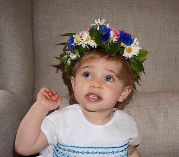 Princess Madeleine of Sweden has shared an adorable new photo of her daughter Princess Leonore