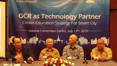 GCR Tawarkan Solusi Internet of Things di 3rd Indonesia International Smart City Expo & Forum