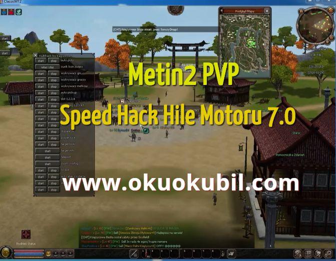 Metin2 PVP Speed Hack Hile Motoru 7.0  Multihack Bot  İndir 2020
