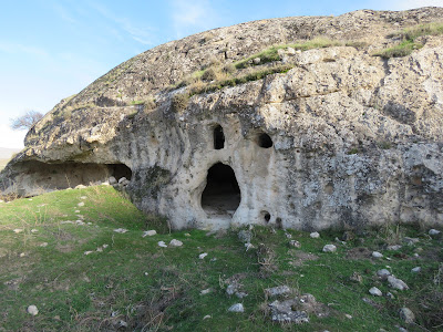 Cave church of Ra's Kayım, at the eastern edge of Hasankeyf, Jan 2020