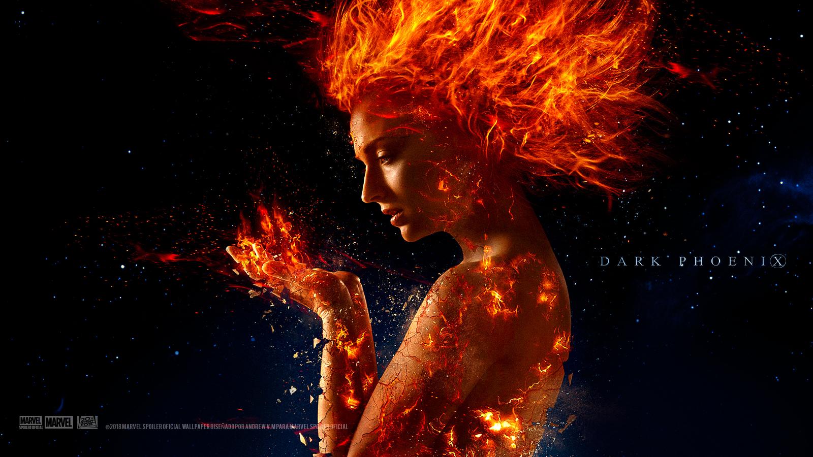 Marvel Spoiler Oficial X Men Dark Phoenix Wallpaper Hd