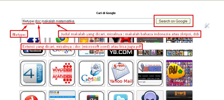 Tutorial Lengkap Cara Cepat Mencari Makalah Langsung Download