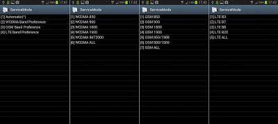 Samsung Service Mode *#2263#
