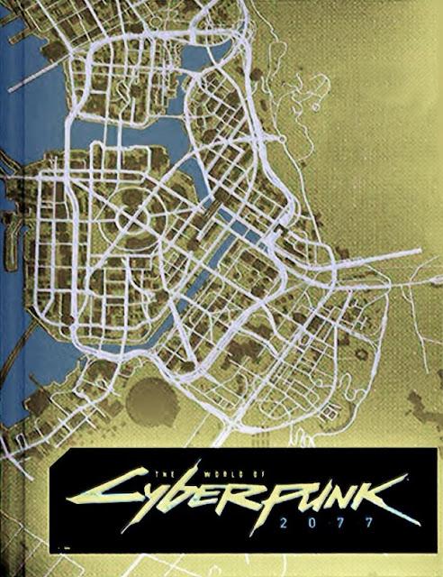 الكشف رسميا عن أول صورة من خريطة عالم لعبة Cyberpunk 2077