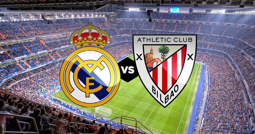 Horario y dónde ver: Ath. Bilbao vs. Real Madrid
