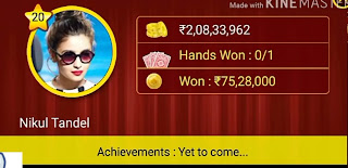 Won in octra card