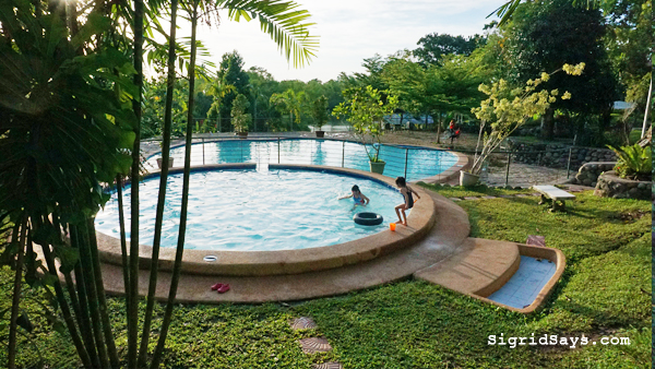 Bantug Lake Ranch - Bacolod attractions - swimming pool