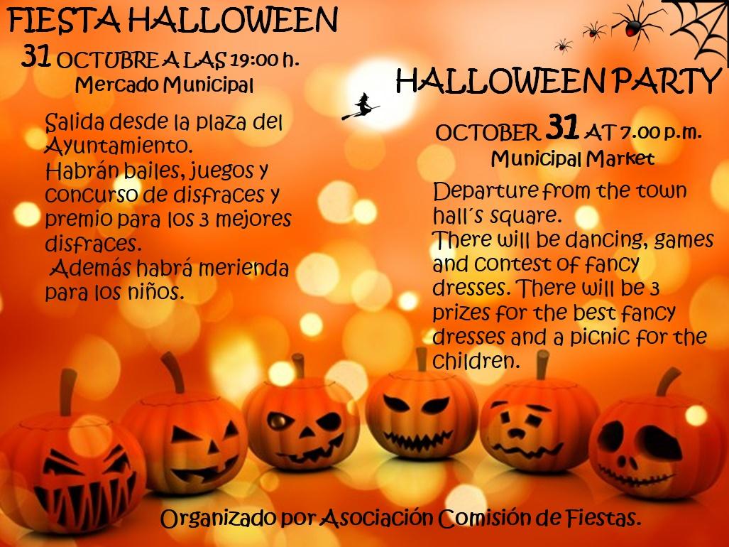 Halloween 30 Oktober.Info Hondon De Las Nieves En Costa Blanca Zuid Halloween