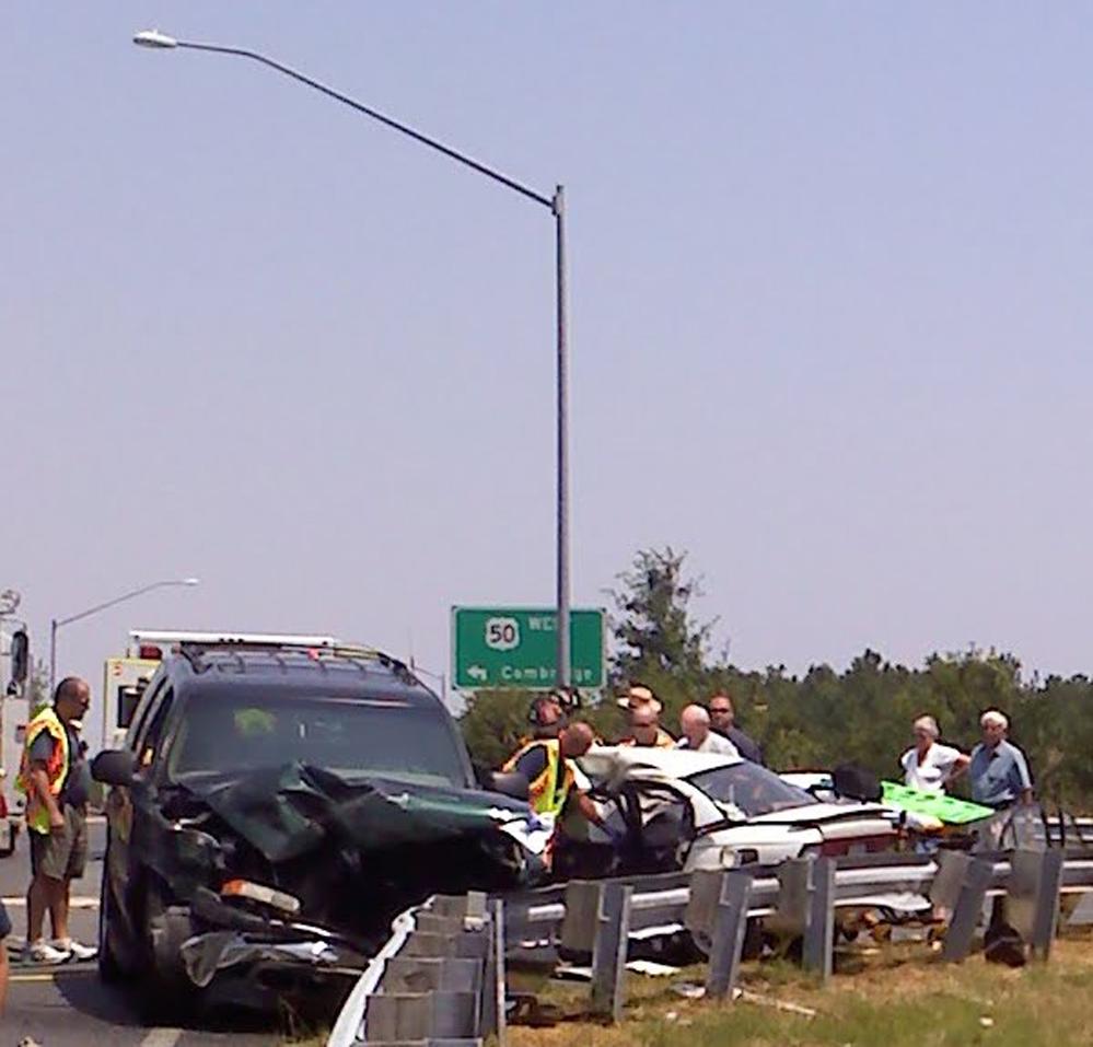 Fatal Car Accident Photos: Car Crash New York Today