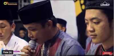 """Terbaru Lirik """"Menebar Senyum Sejuta Kedamaian"""" Vocal Ahmad Tumbuk Majlis Pemuda bersholawat At-taufiq"""