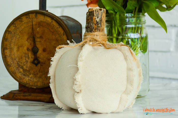 Cute Fabric Pumpkin