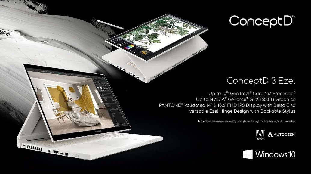 Acer Augments Concept D Series for Content Creators; Yours Starting at USD619.99