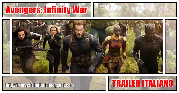 Marvel Film Italia: Avengers Infinity War (2018) - Trailer italiano