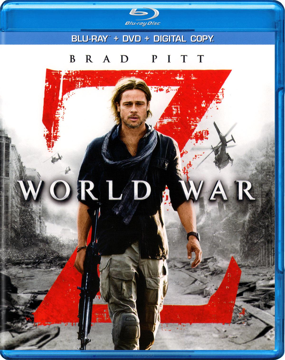 World War Z (2013) BluRay – 720p – Original [Hindi + Eng+Telugu +Tamil]