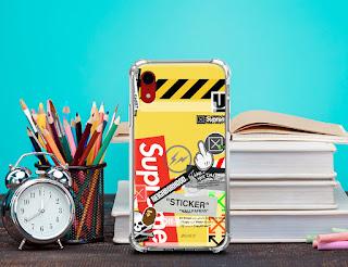 Mockup Custom Case Anticrack iPhone Xr