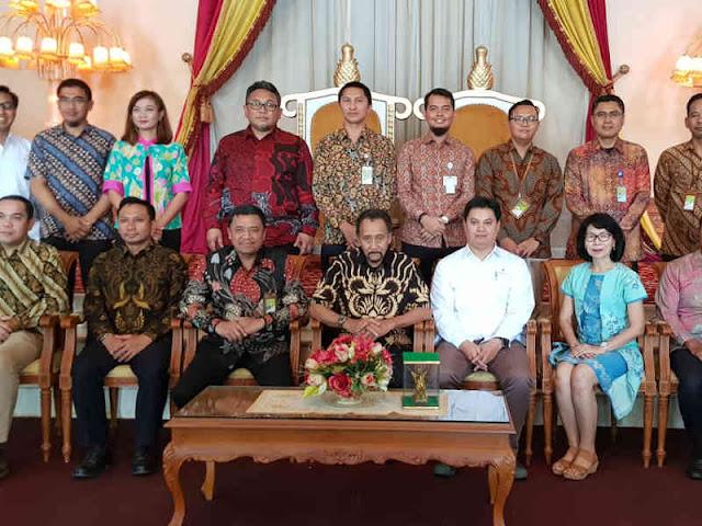 SKK Migas dan KKKS Gelar Kunjungan Kehormatan ke Kesultanan Kutai Kartanegara