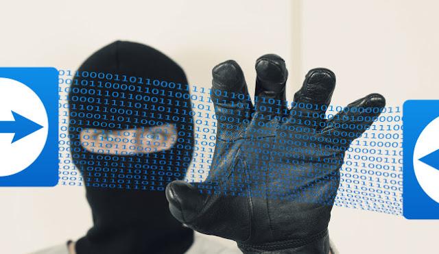 teamviewer hackerato