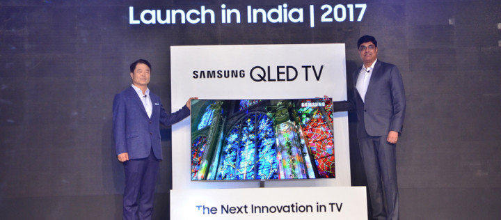 Samsung launches QLED TVs in India