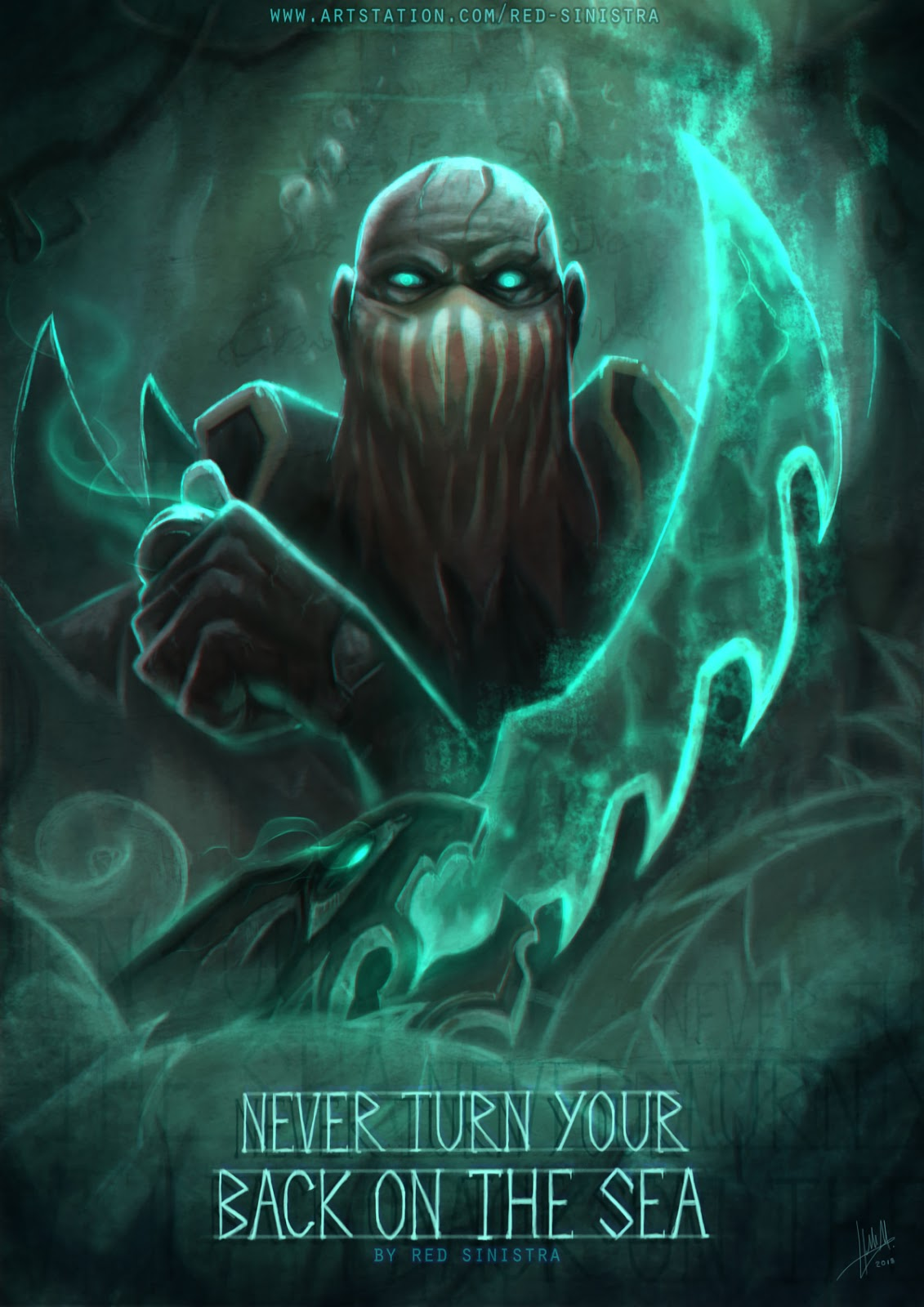 Lol Fan Art Pyke Lol Skinners Lol Wallpapers Desktop Mobile