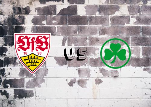 Stuttgart vs Greuther Fürth  Resumen