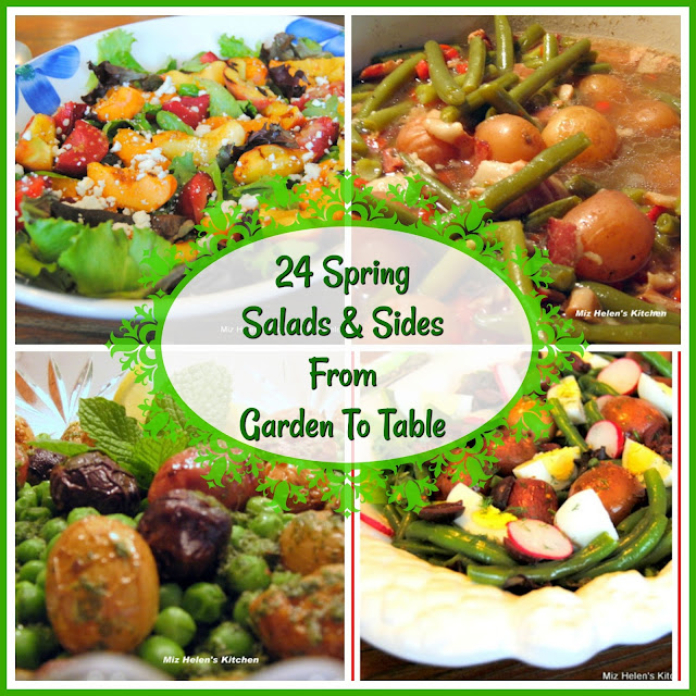 24 Spring Salads and Sides at Miz Helen's Country Cottage