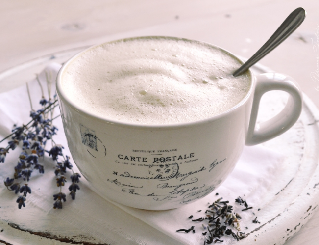 EARL GREY TEA LATTE  #drink #tea #cocktail #latte #vanilla