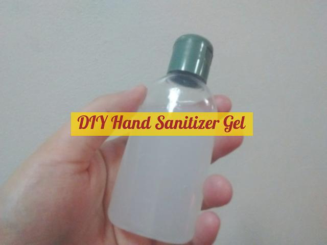 DIY Hand Sanitizer Gel
