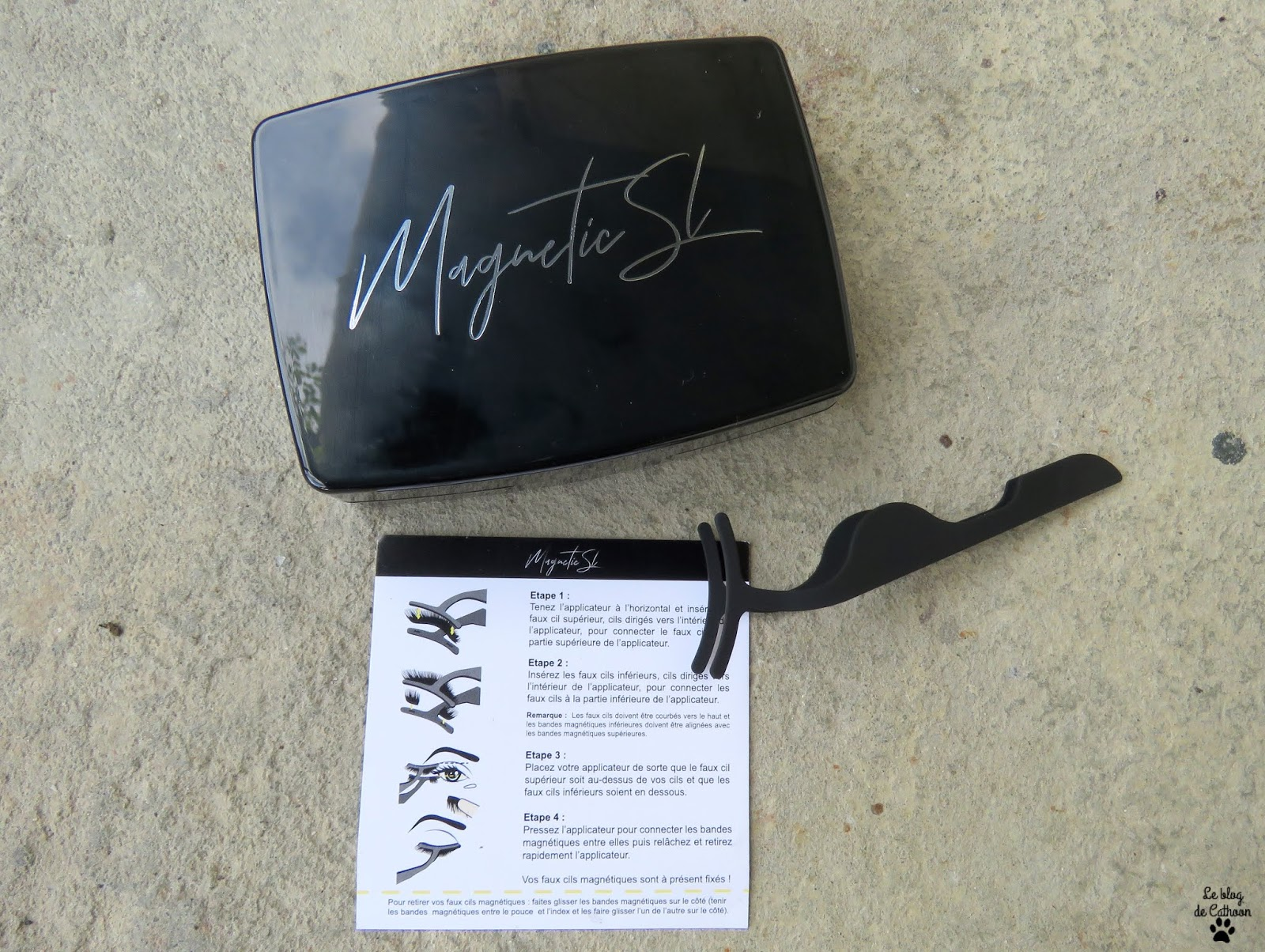 Faux Cils Magnétiques + Kit Eyeliner Magnétique