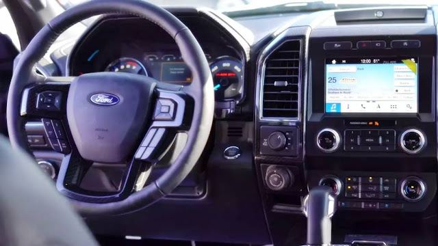 2019 Ford F-150 Black Ops Edition Interior