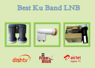 Free to Air frequency from indian free ku band channels reception without any signal problem, this Ku band Lnbf performance very well.