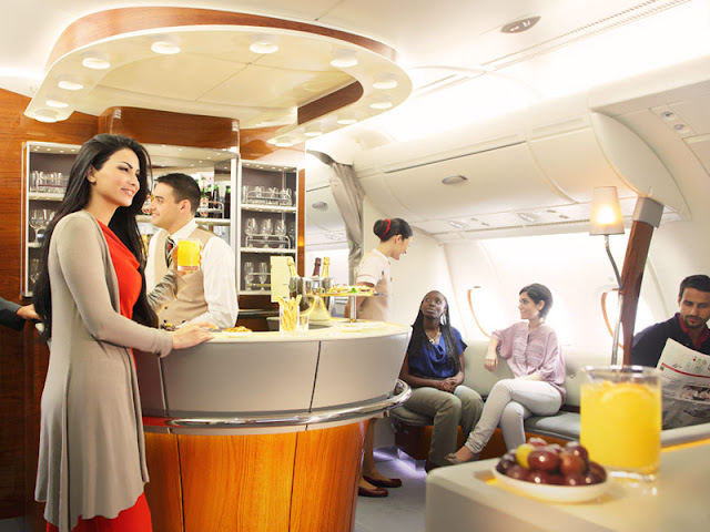 Emirates Bar Airbus A380
