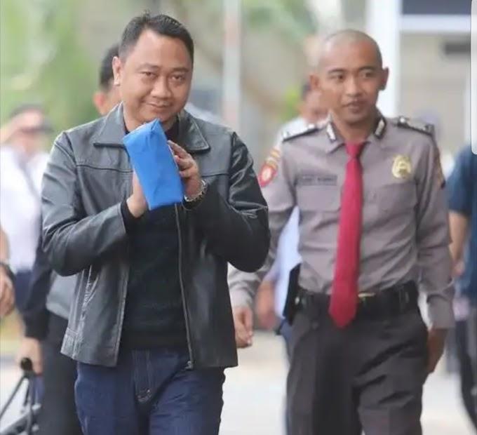 Bupati Lampung Utara Tiba di KPK Jakarta