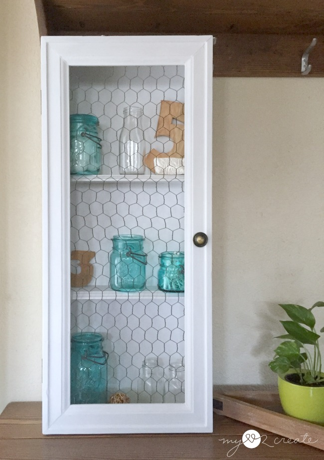 How to turn a drawer into a cabinet, full picture tutorial at MyLove2Create