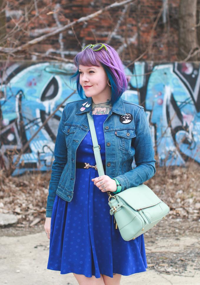 the dainty squid, cleveland, fashion blog, blogger, ohio