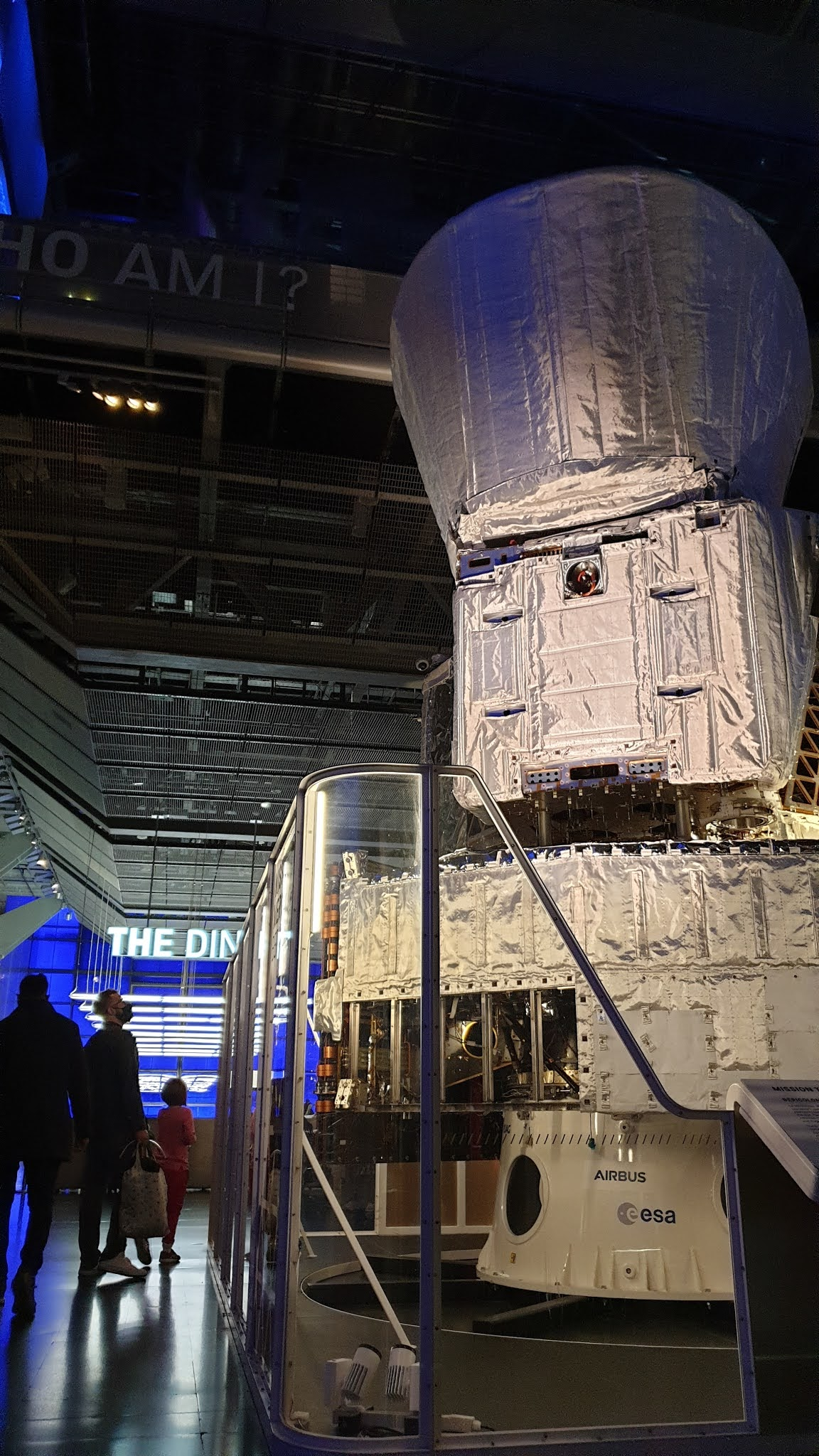 challenger descent module at science museum