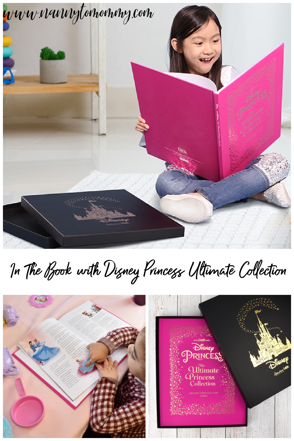 In The Book with Disney Princess Ultimate Collection