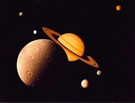 Titan, Saturn Satellite That Resemble Earth