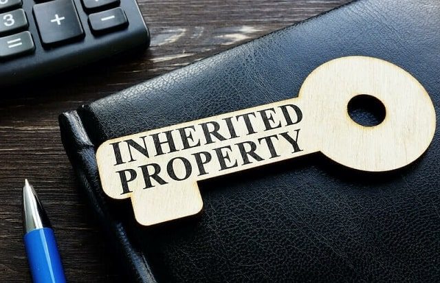 how to refinance inherited property