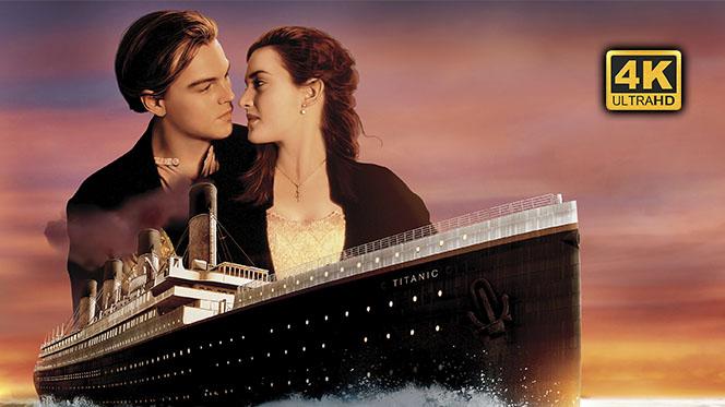 Titanic (1997) Open Matte 4K UHD 2160p Español Latino-Castellano-Inglés