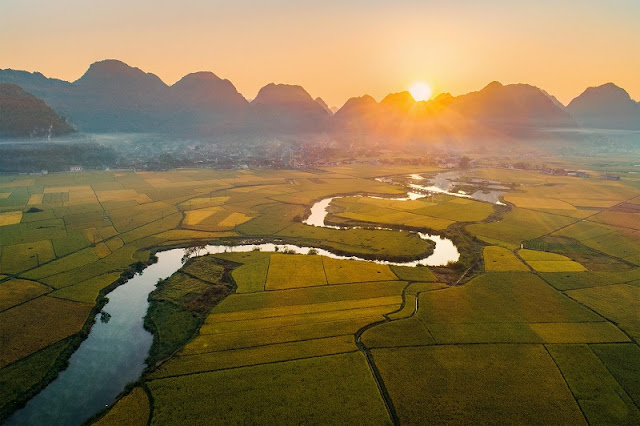 [PHOTO] Overwhelmed By The Natural Beauty In Bac Son Valley In The Season Of Ripe Rice 3