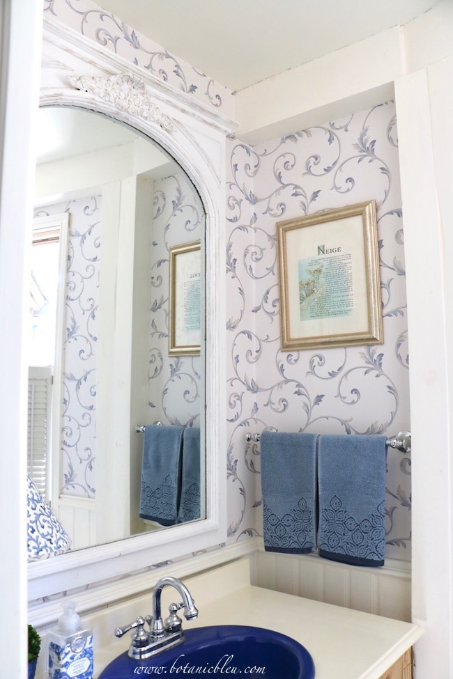 French Country Mirror Makeover