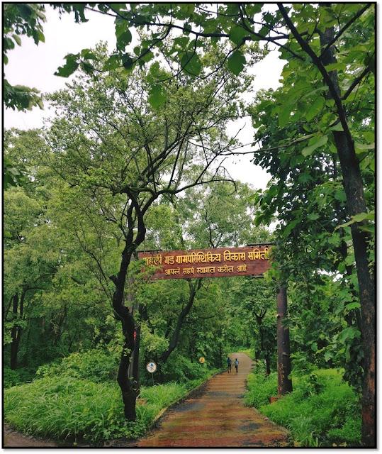 mahuli fort, treking place in thane