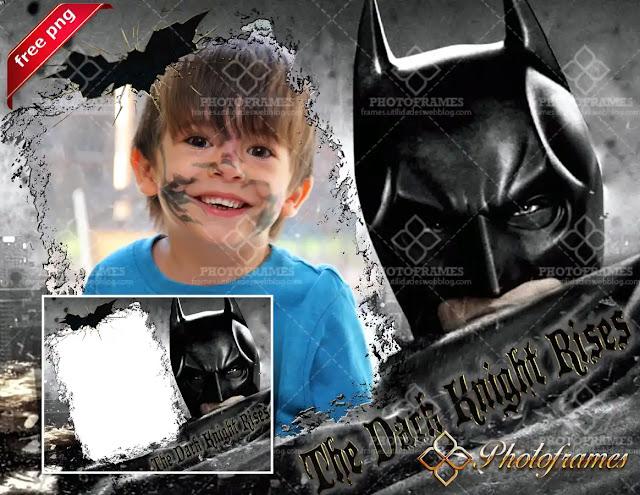 Marco para fotos de Batman, el caballero de la noche
