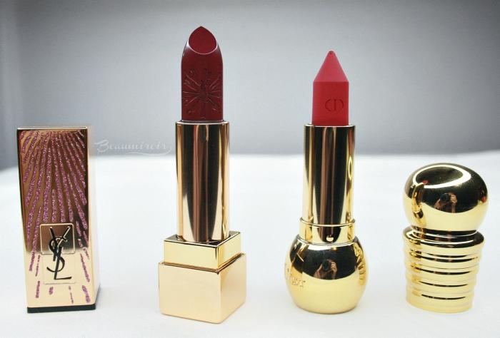 Dior YSL lipstick khol dazzling lights prune avenue intense garnet