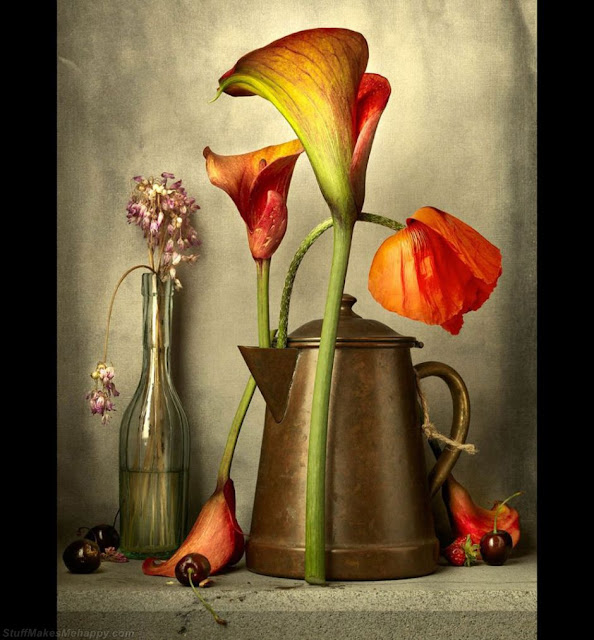 The second place in the competition is a still life from New Zealand. (Photo by SIMON SCHOLLUM):